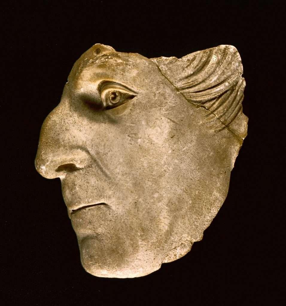 Death Mask of John Tyler