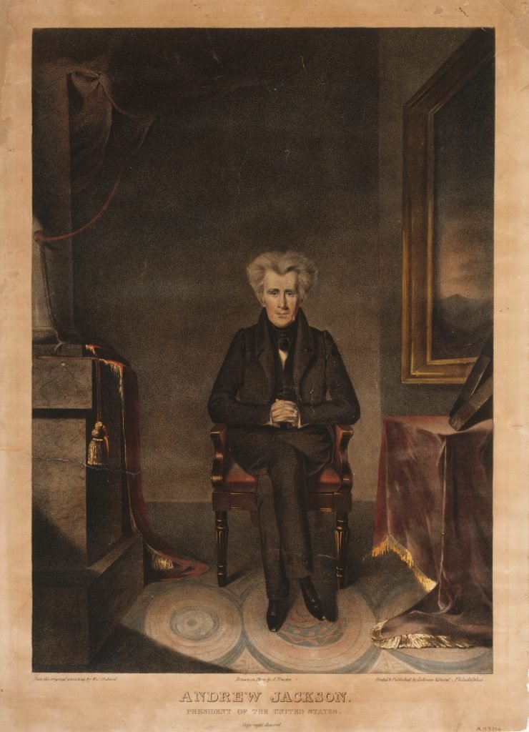 Andrew Jackson. President of the United States.
