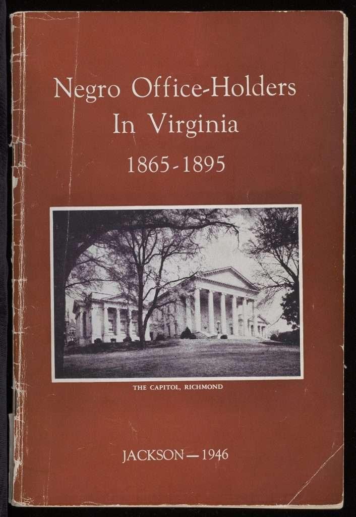Negro Office-Holders in Virginia 1865—1895