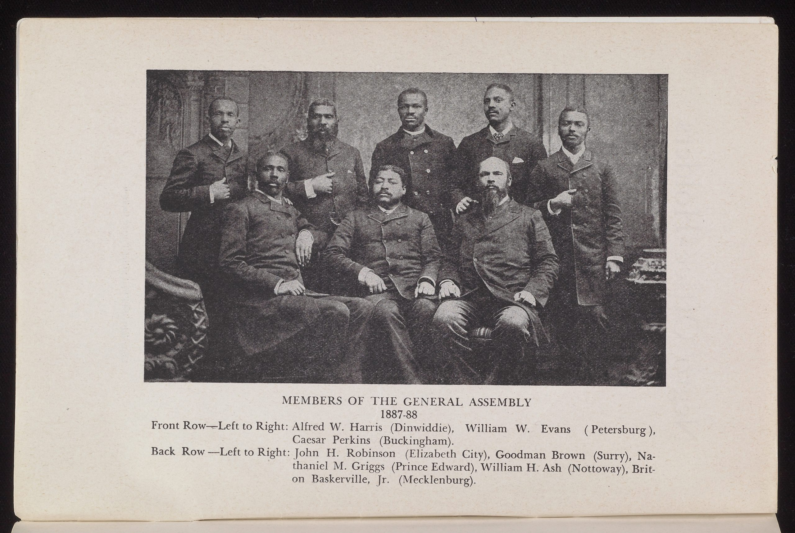 Members of the General Assembly 1887—88