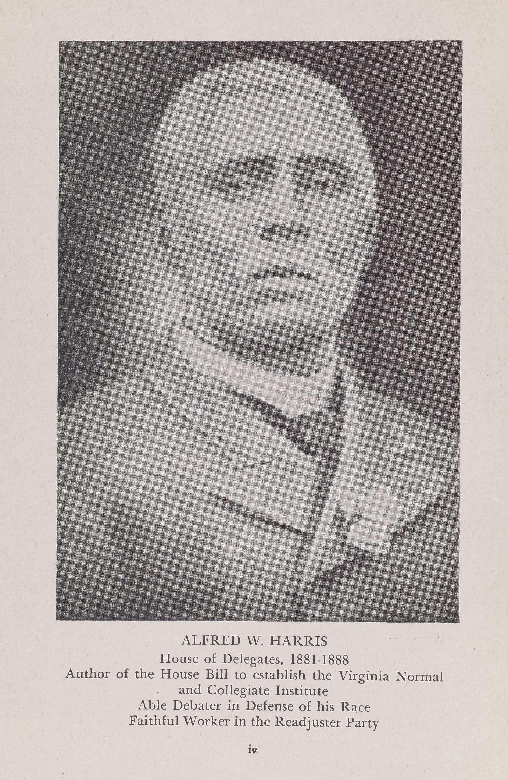 Alfred W. Harris
