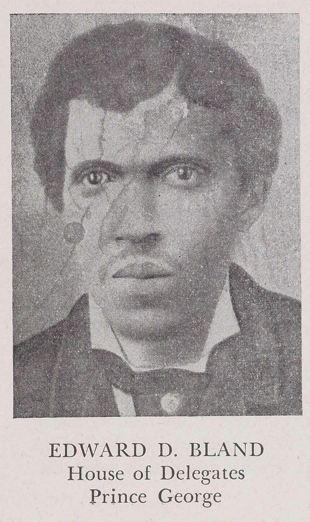 Edward D. Bland