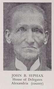 Syphax, John Bryce (d. September 8, 1916)