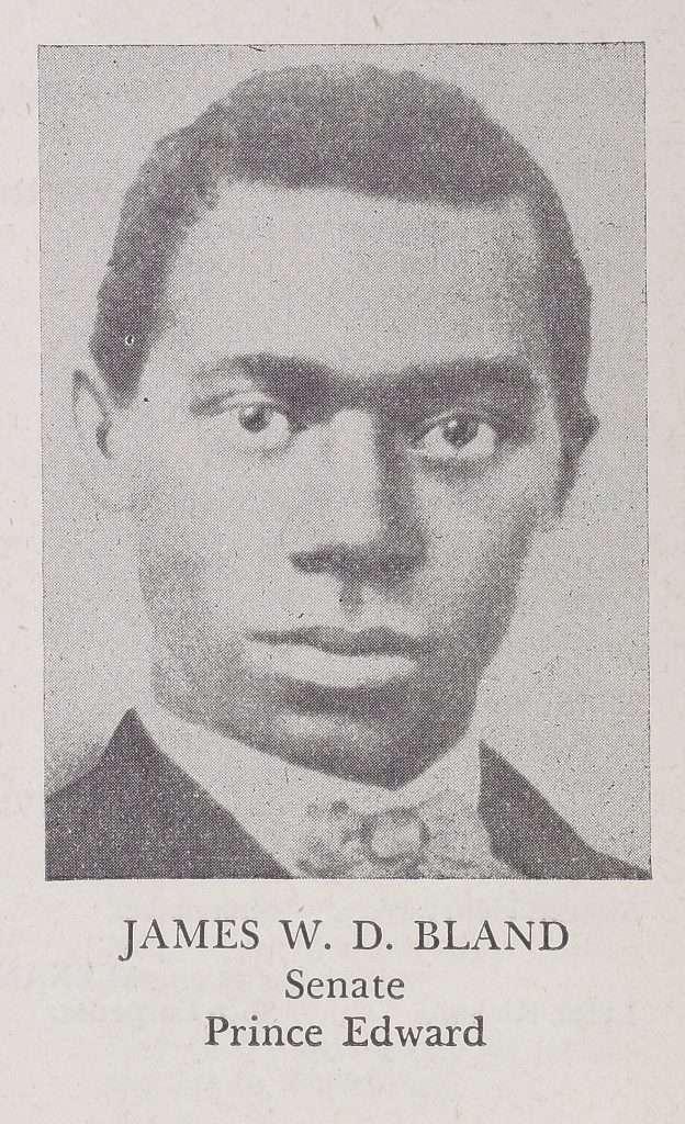 James W. D. Bland