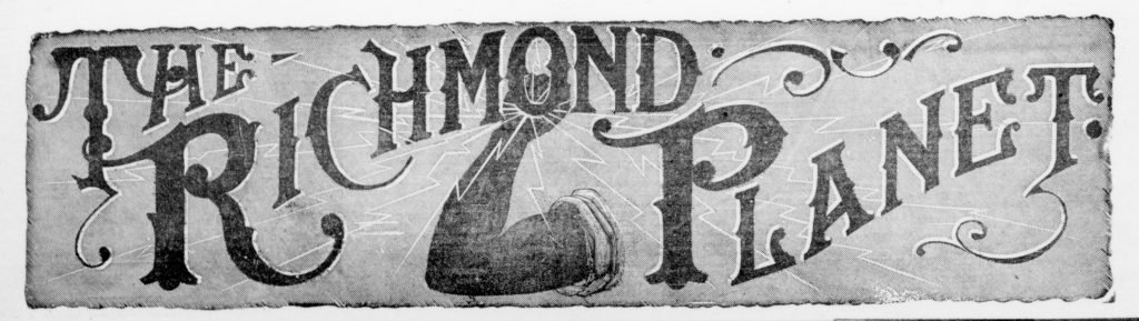 Masthead of the Richmond Planet