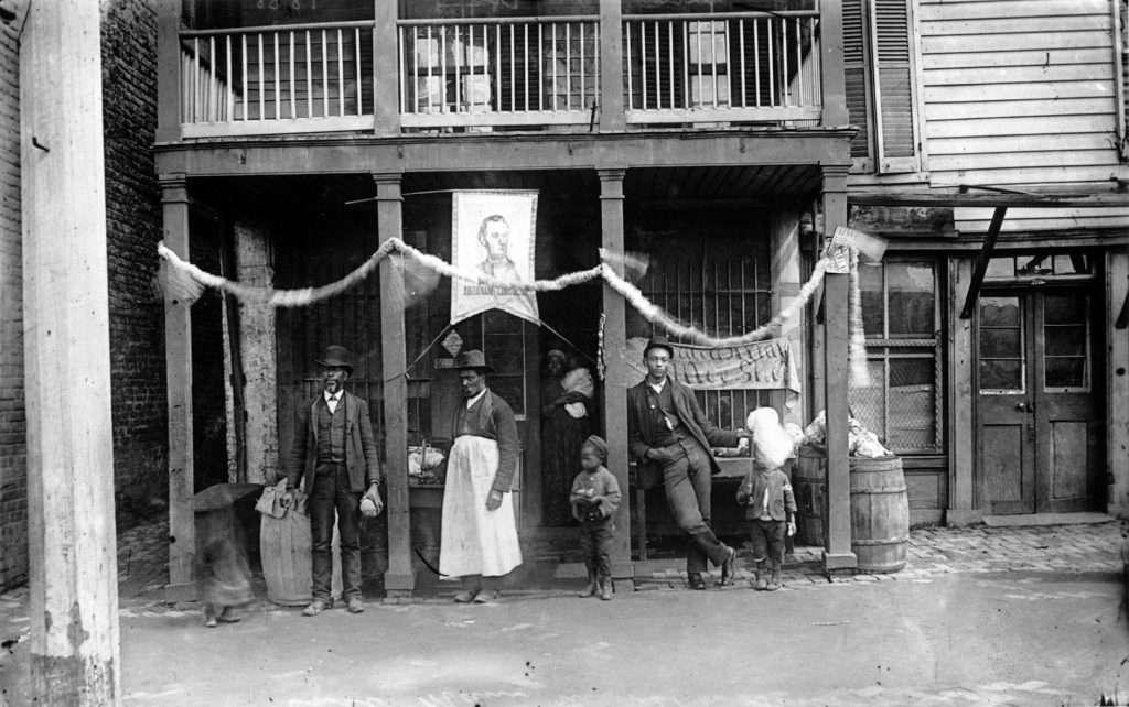 African American Shopkeeper in Richmond