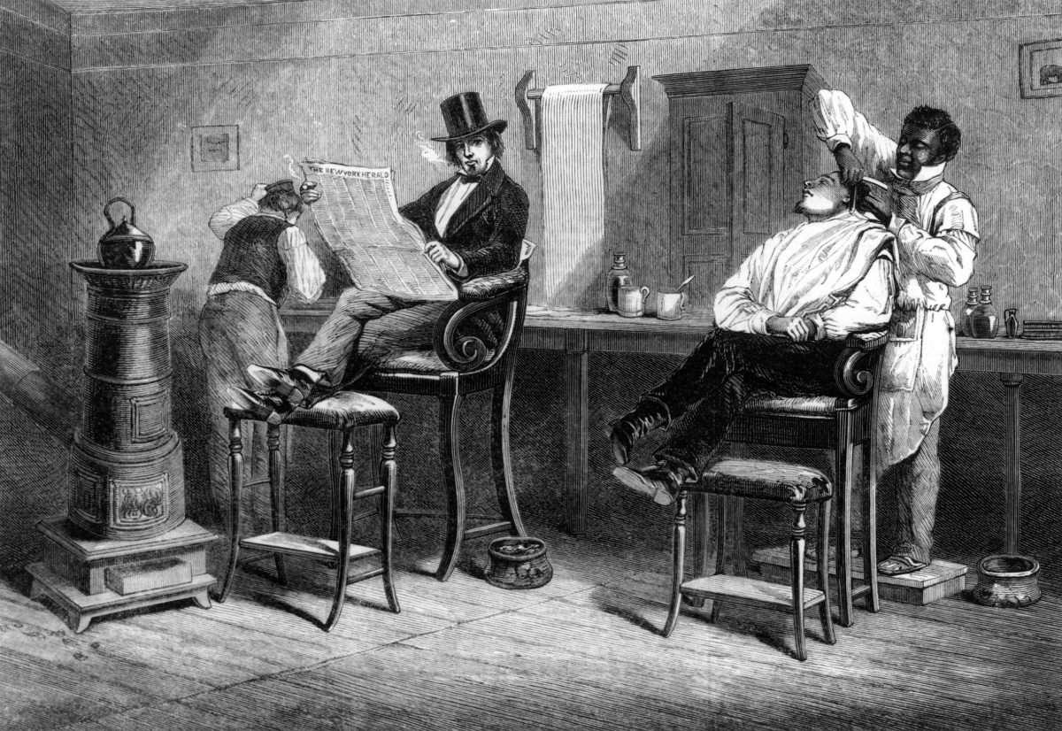 A Barber's Shop at Richmond