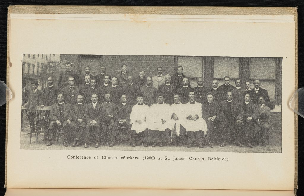 Conference of Church Workers (1906) at St. James' Church