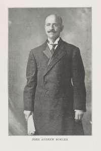 Bowler, J. Andrew (1862–1935)