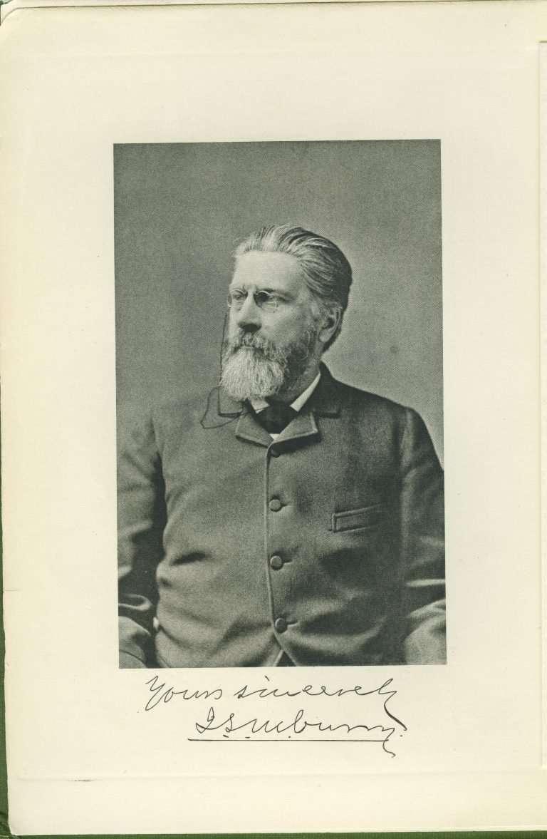 Signed Portrait of J. L. M. Curry