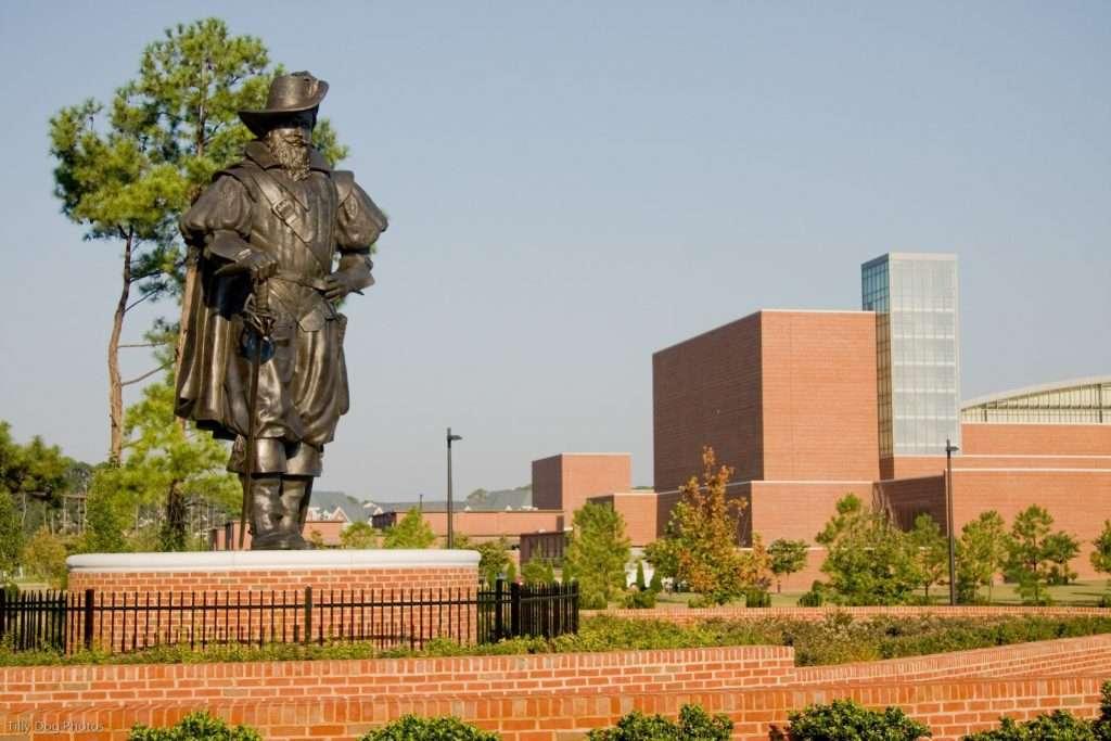 Christopher Newport Statue