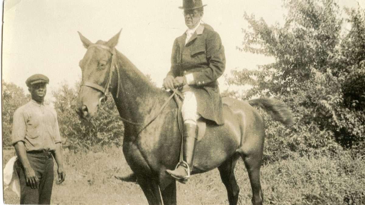 John Stewart Bryan at a Hunting Event