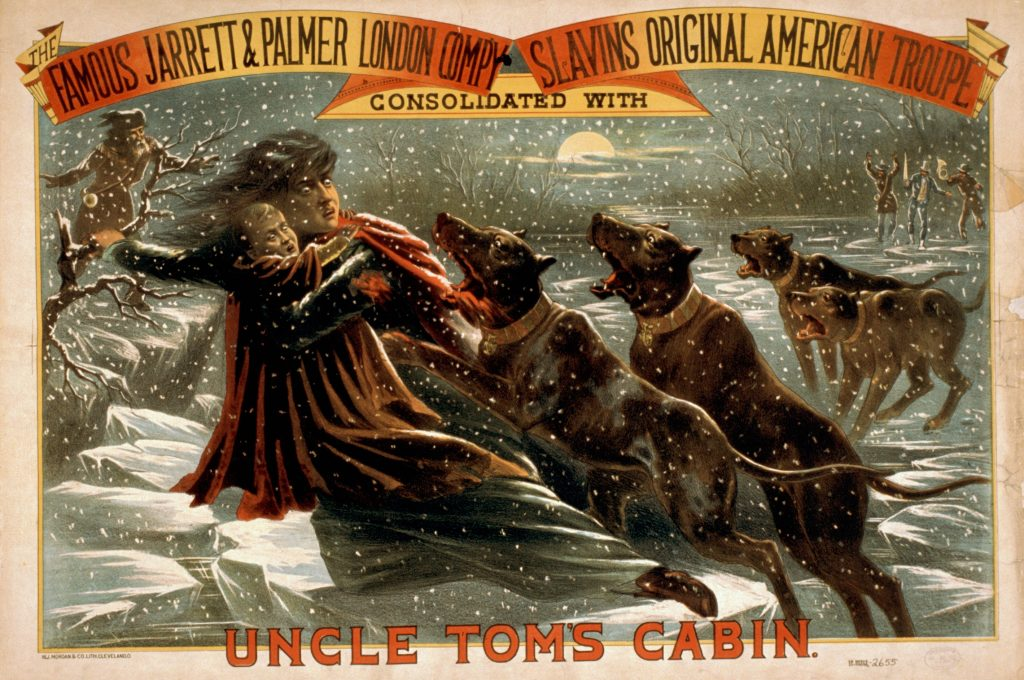 Theater Poster for Uncle Tom's Cabin