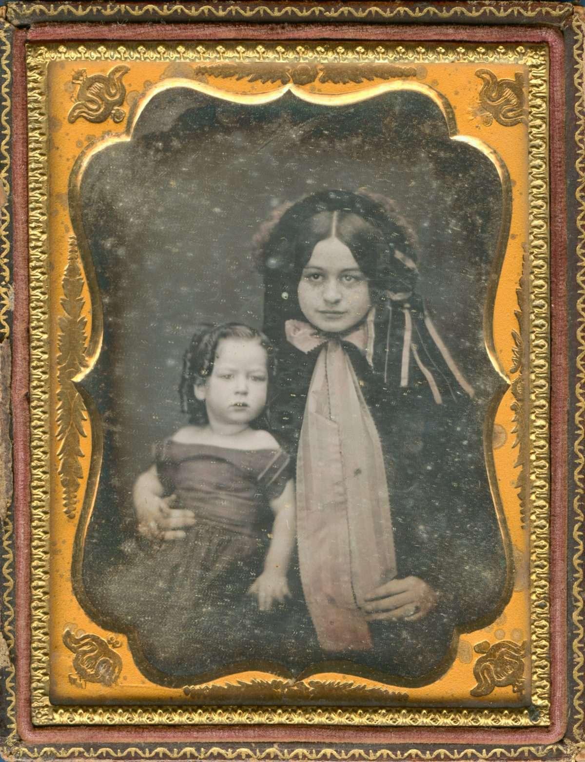 Mary Custis Lee and Robert E. Lee Jr.