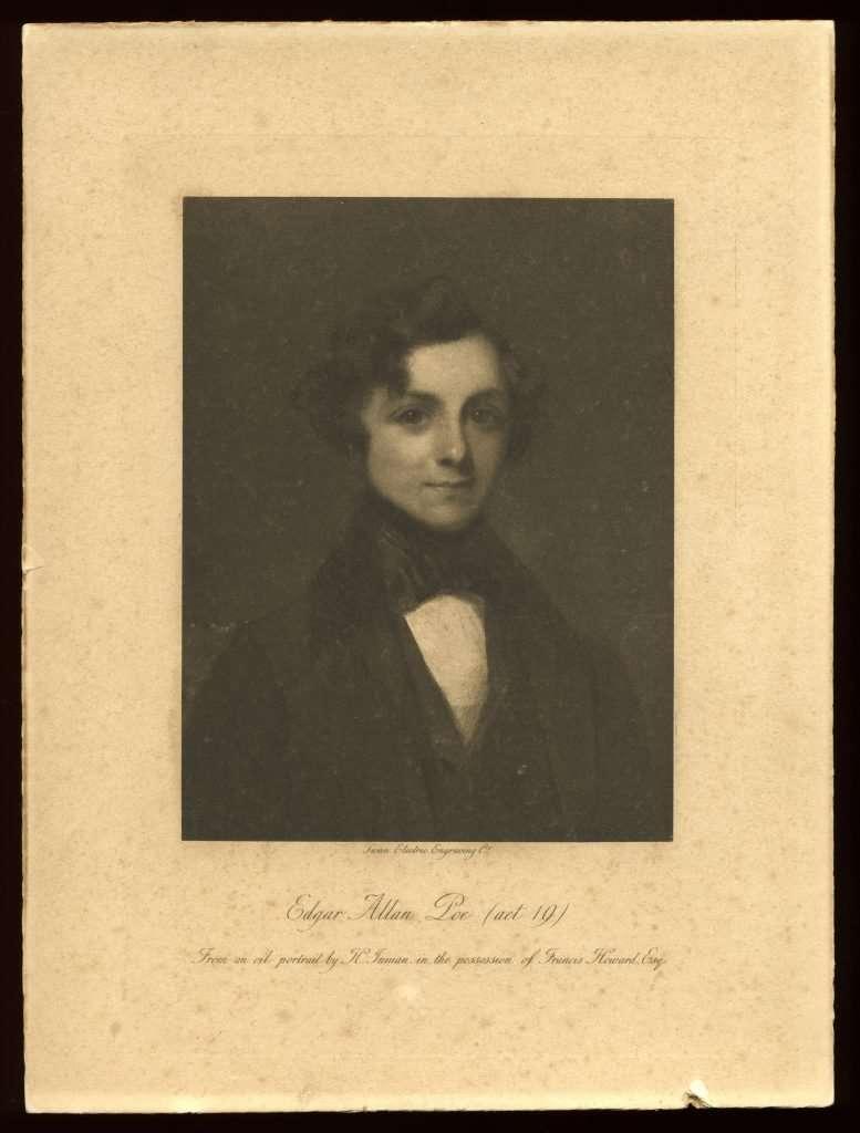 Fraudulent Portrait of a Young Edgar Allan Poe