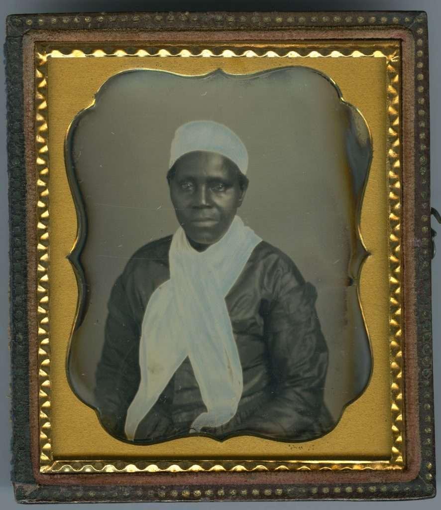 Daguerreotype of Sally Boles Gladman