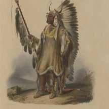 A Mandan Chief.