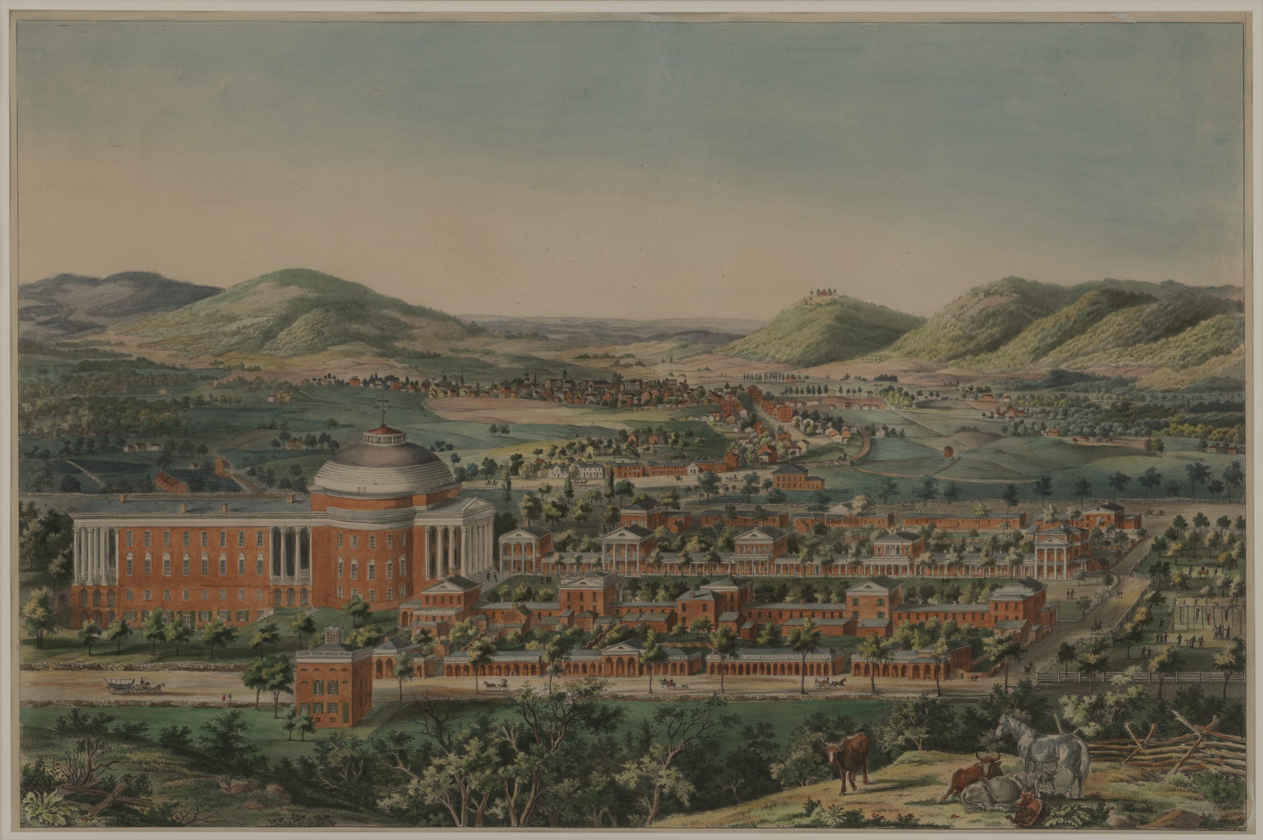 View of the University of Virginia