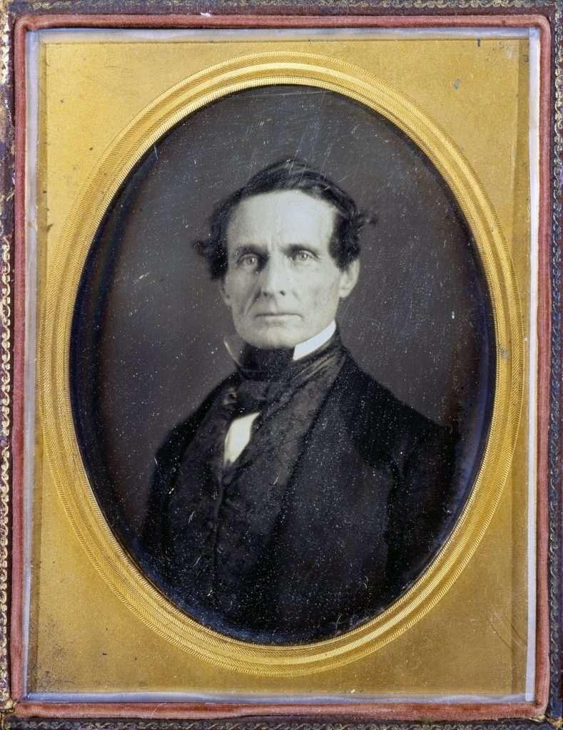 Daguerreotype of Jefferson Davis