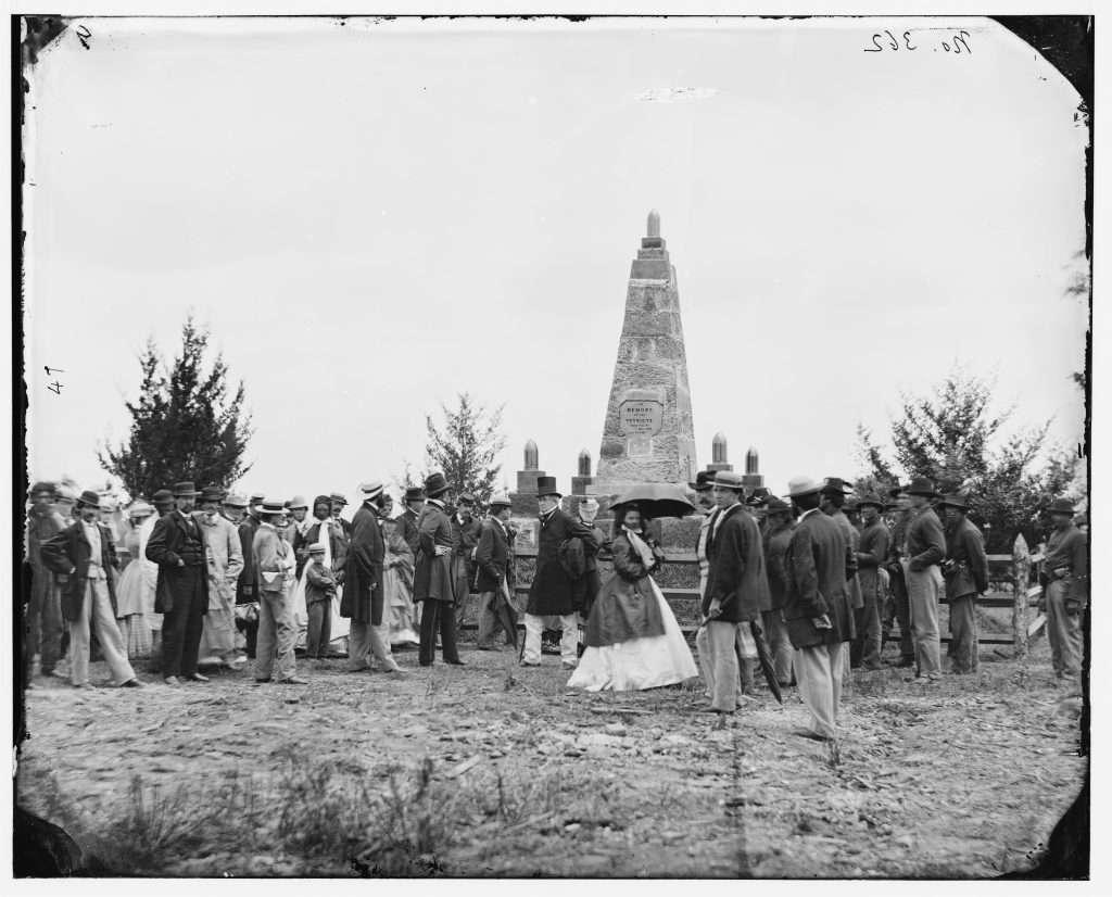 Dedication of Battle Monument