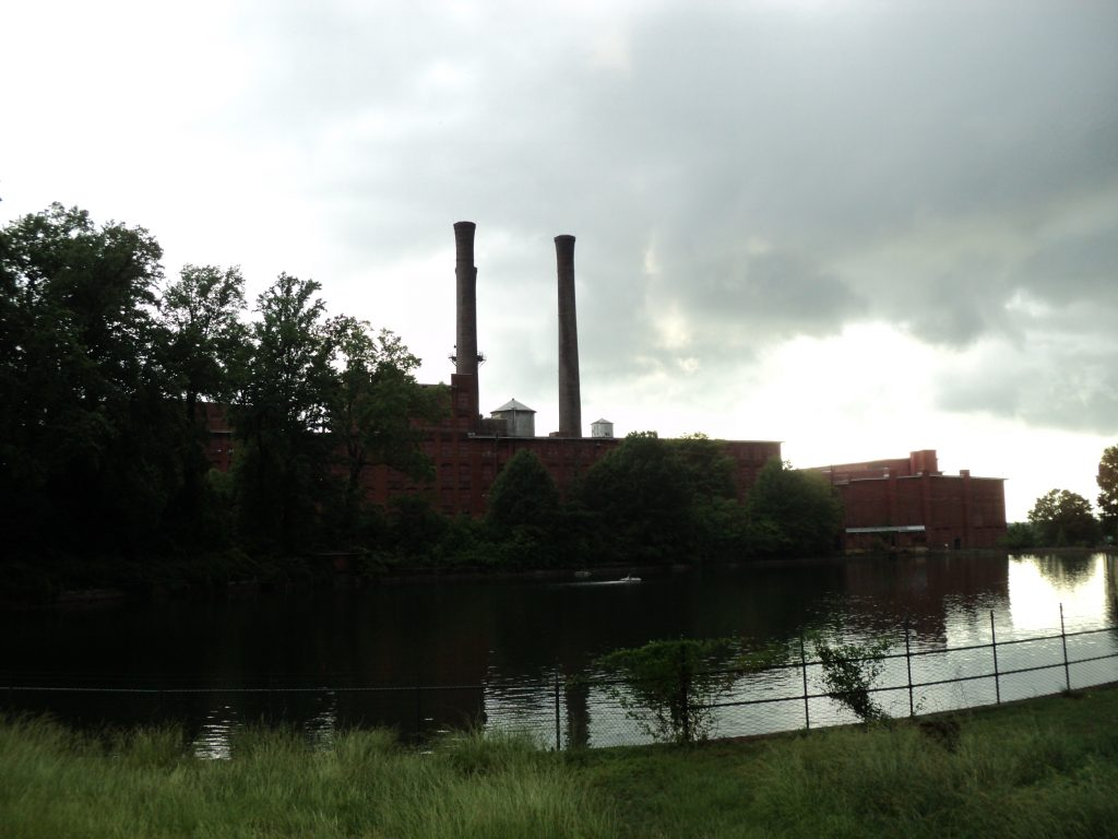 Shuttered Textile Mill