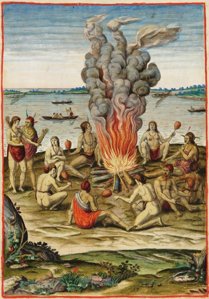 Solenne Festum ad ignem celebrandi ratio (Their Method of Performing a Solemn Ceremony around a Fire)