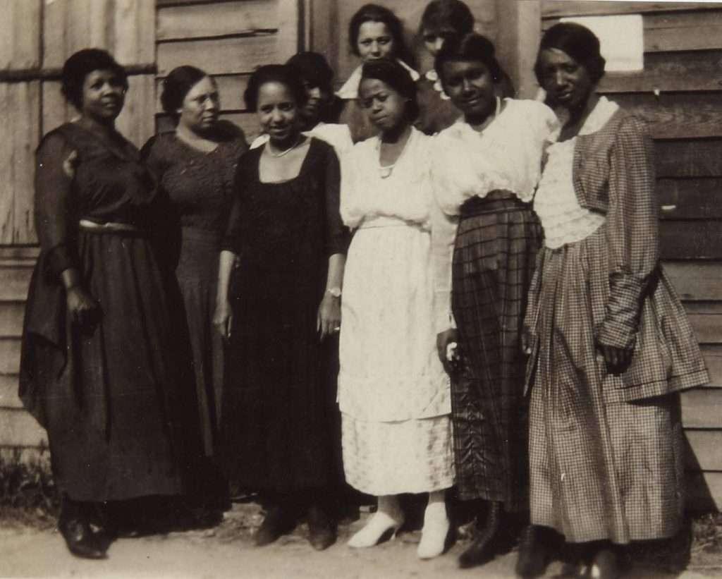 First African American Women Voters in Ettrick