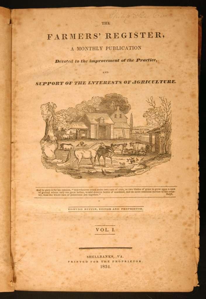 The Farmers' Register