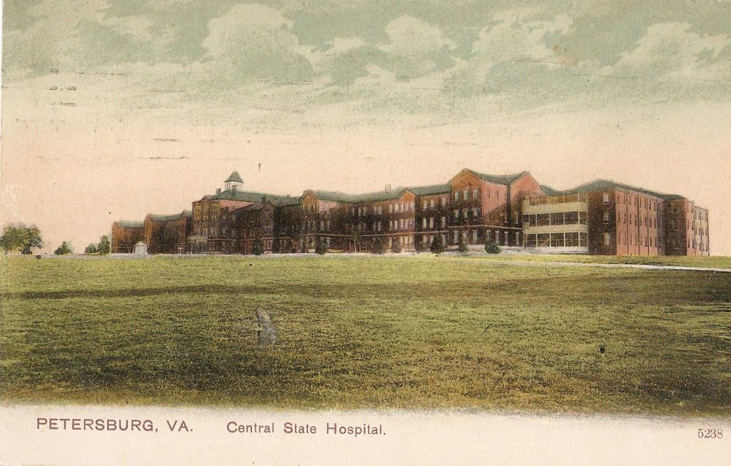 Central State Hospital in Petersburg