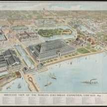 Bird's-Eye View of the World's Columbian Exposition
