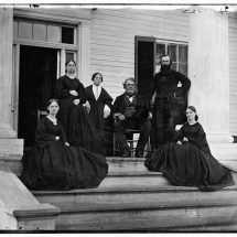 John Minor Botts and Family