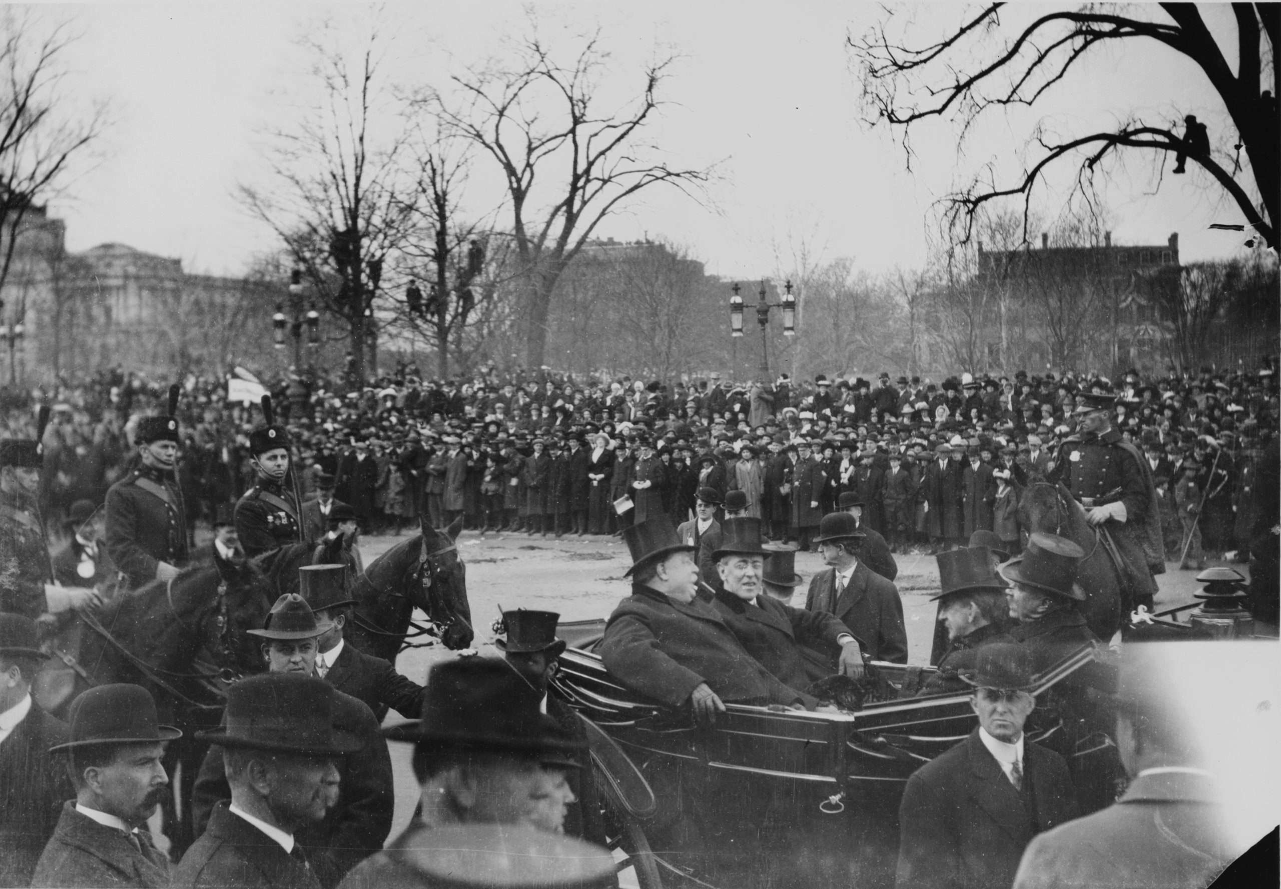 Woodrow Wilson's 1913 Inaugural Procession