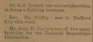 Davis, John H. (d. 1896)