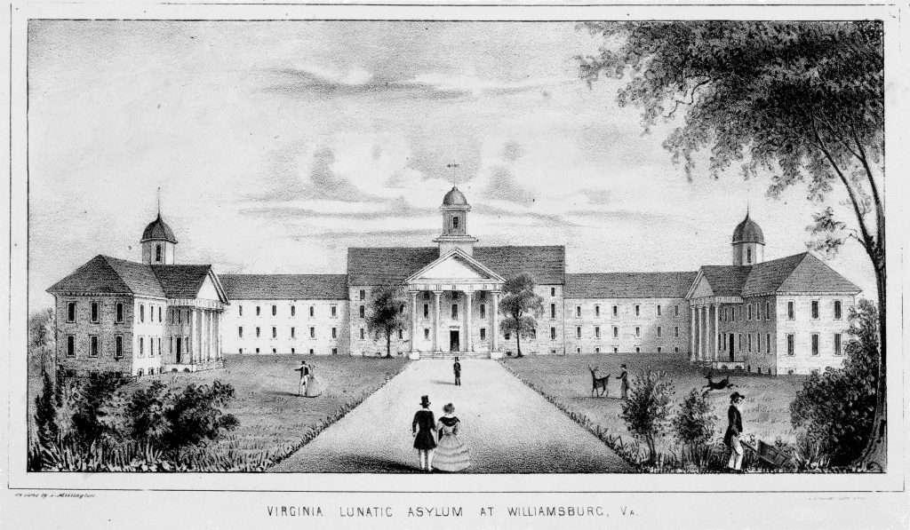 Virginia Lunatic Asylum at Williamsburg