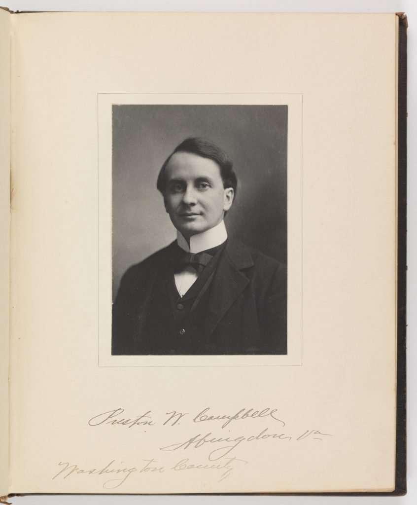 Preston White Campbell