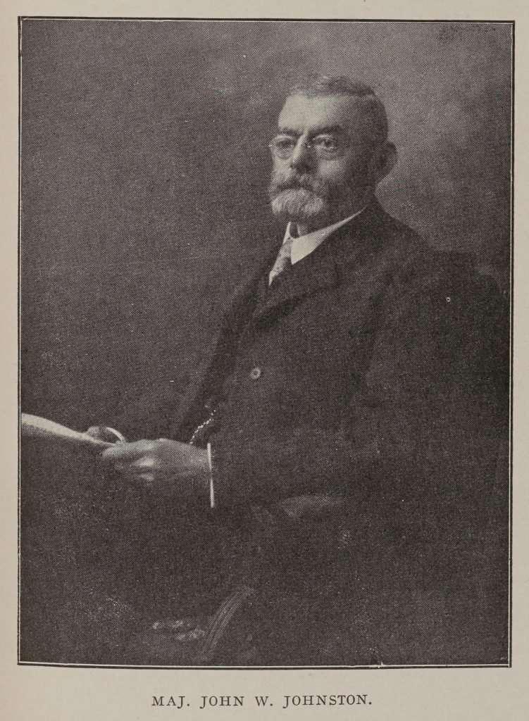 Major John W. Johnston