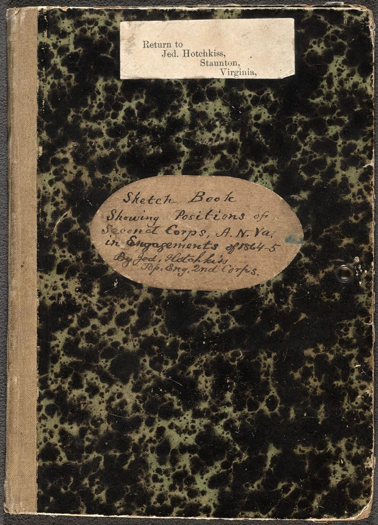 Cover of Jedediah Hotchkiss's Sketchbook