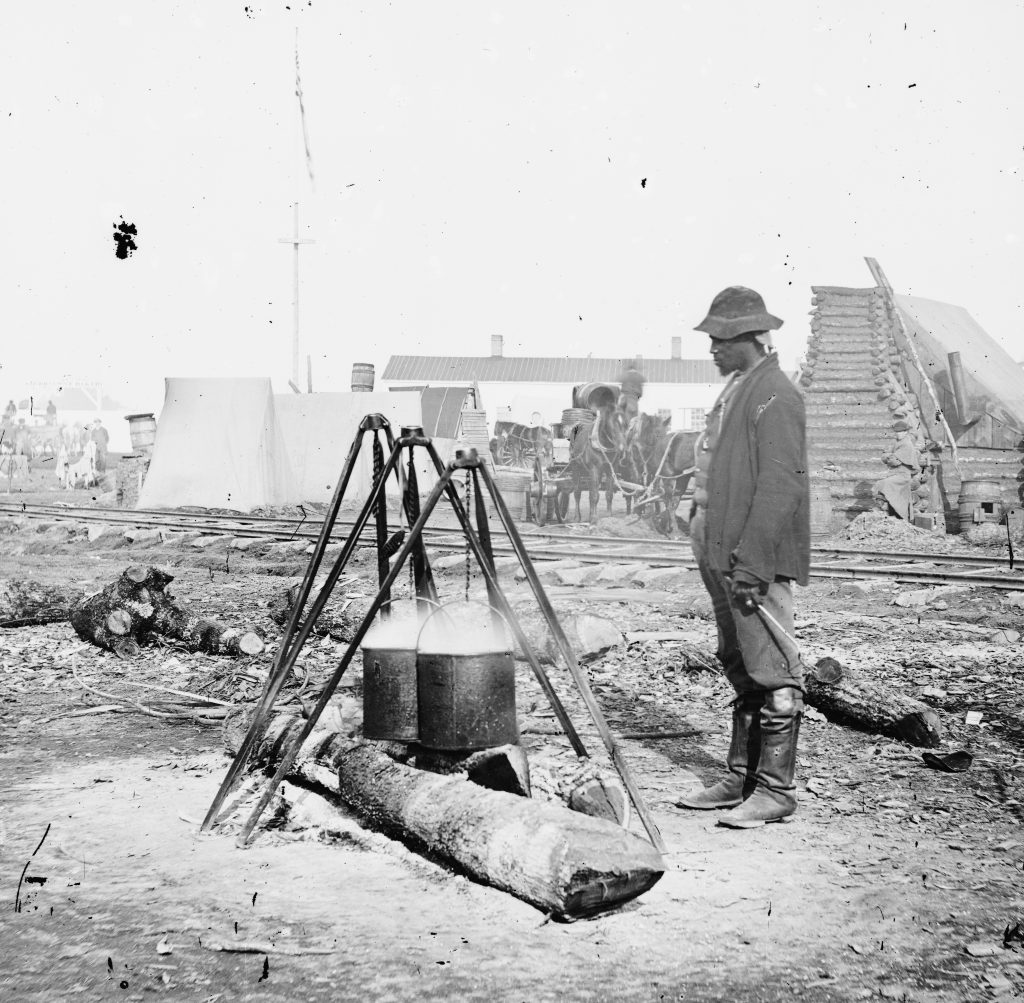 African American Union Army Cook