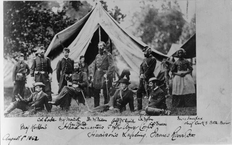 General Fitz John Porter and Staff