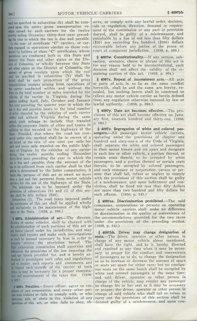 Code of Virginia (1930)