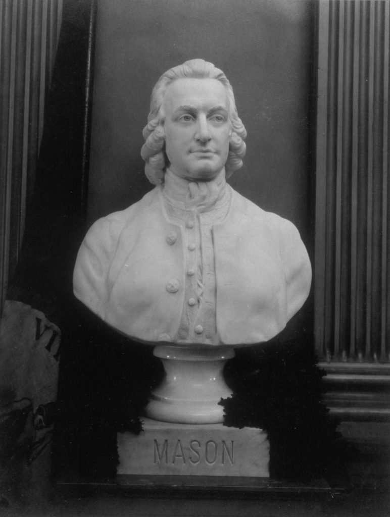 Bust of George Mason