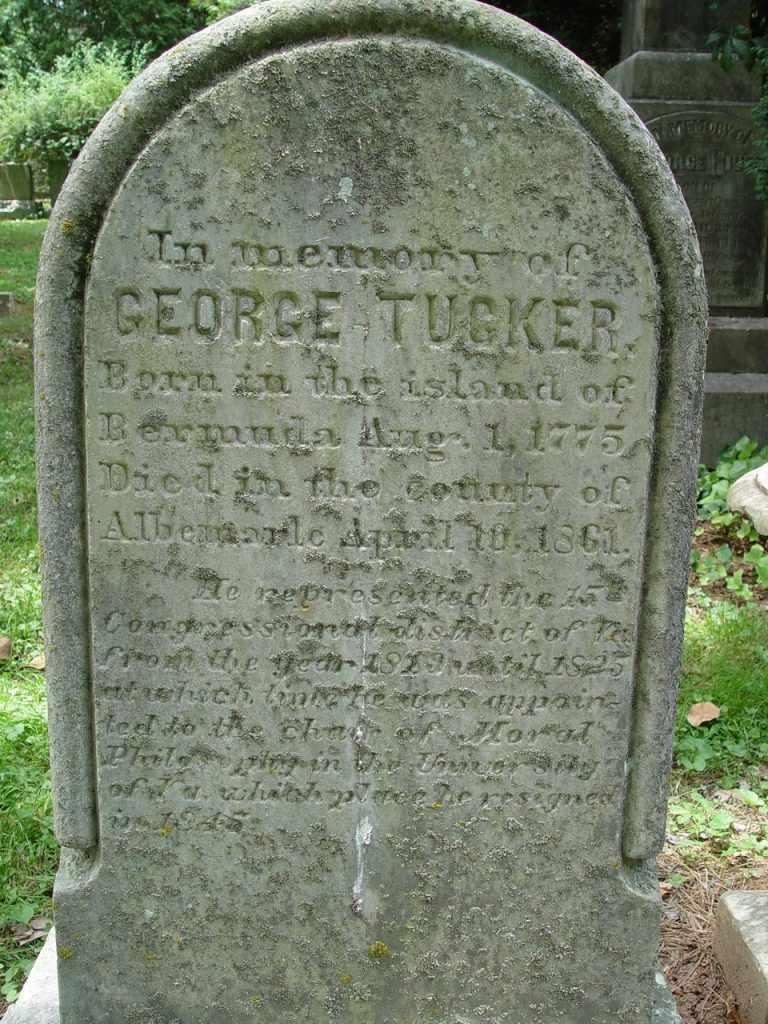 George Tucker's Grave