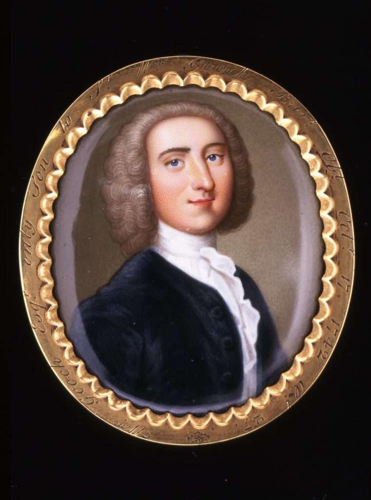 Miniature Portrait of Sir William Gooch's Son