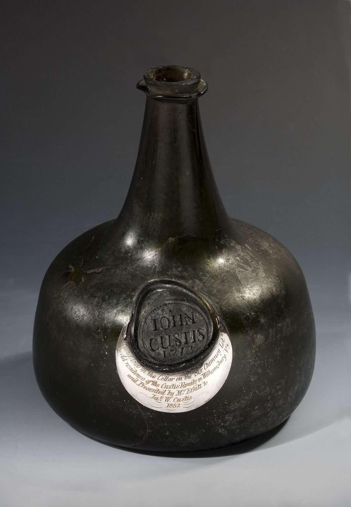 John Custis's Wine Bottle