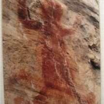 Paint Lick Mountain Pictograph