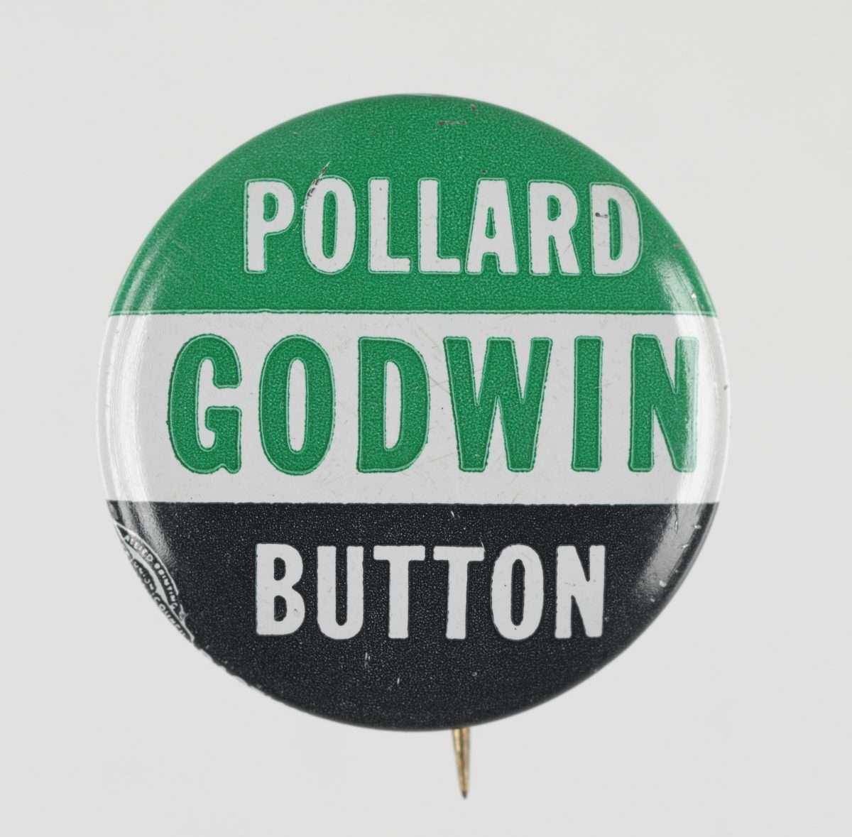 Political Button for 1965 Election