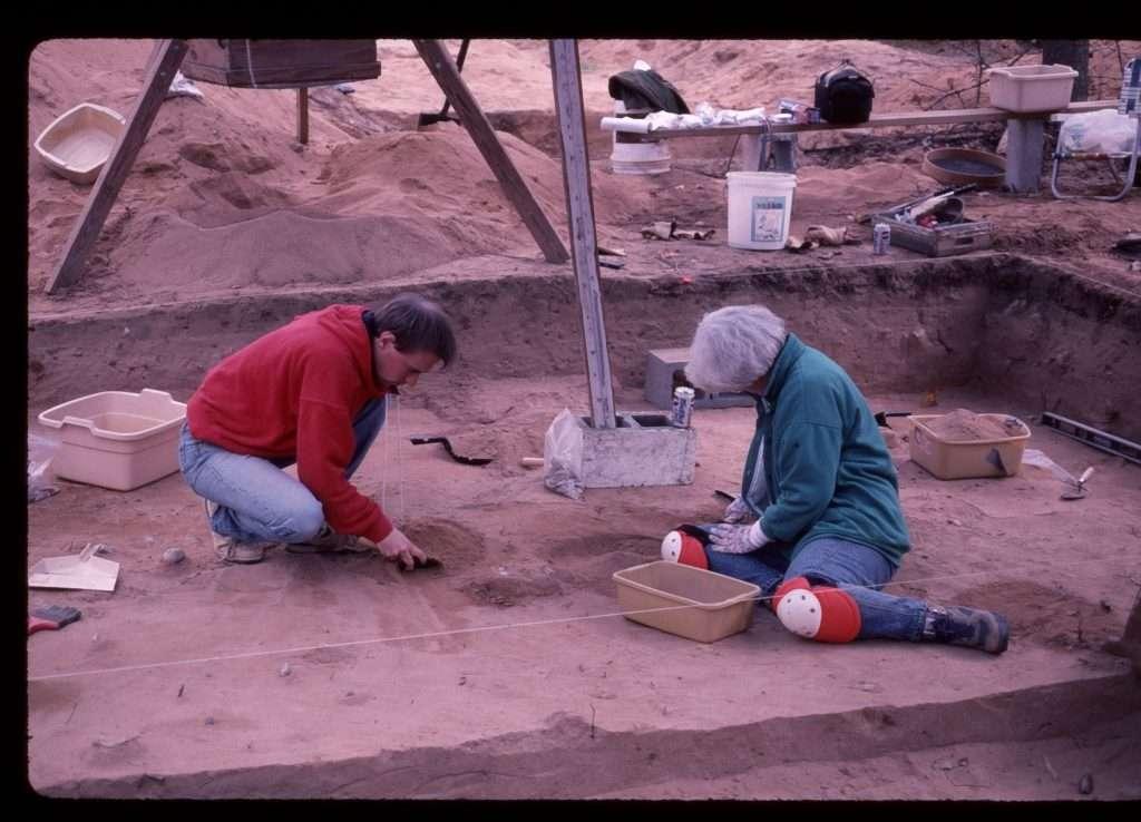 Cactus Hill Excavations