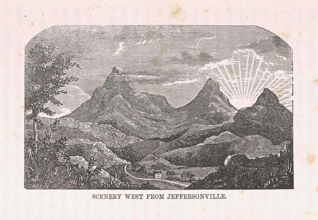 Scenery West from Jeffersonville