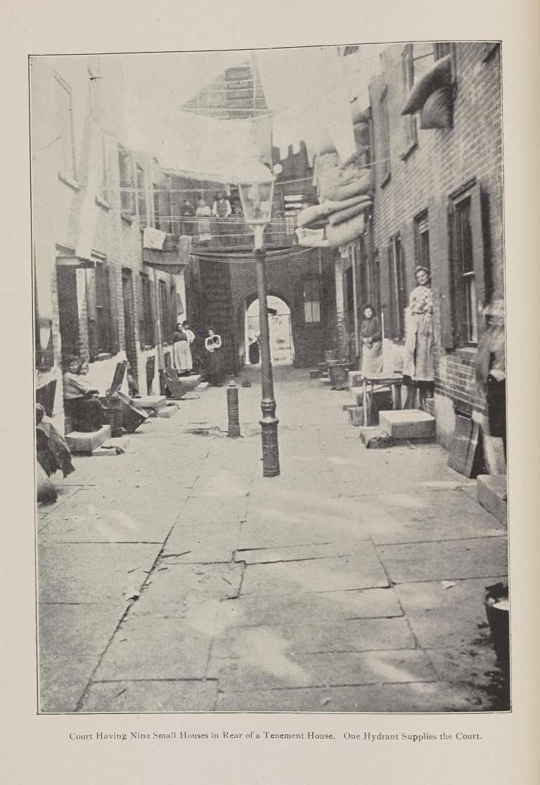 A Tenement Courtyard