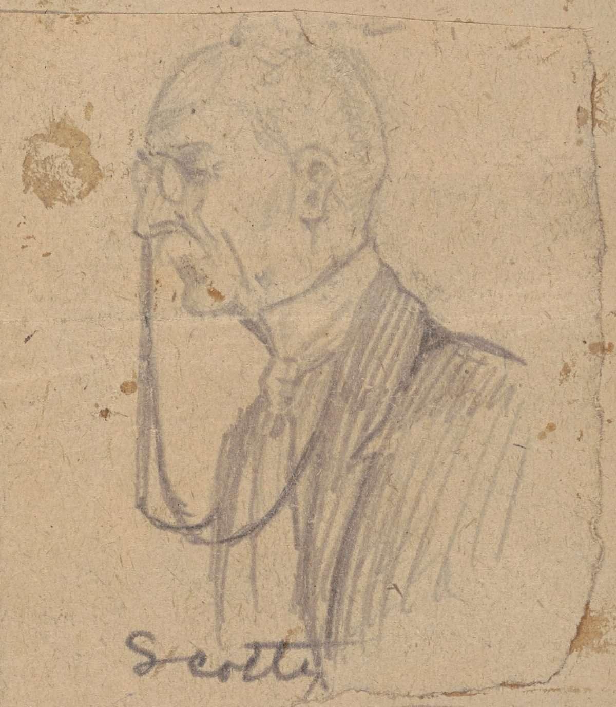 Sketch of Walter Scott Copeland